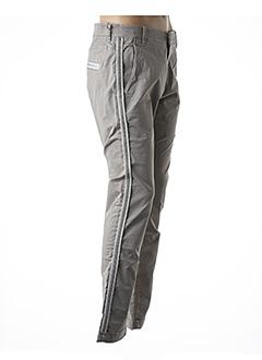 Pantalon casual beige BARB'ONE pour homme