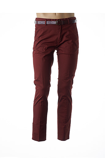 Pantalon chic marron SCOTCH & SODA pour homme