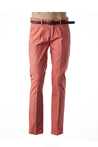Pantalon chic orange SCOTCH & SODA pour homme