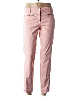 Pantalon 7/8 rose LUISA CERANO pour femme
