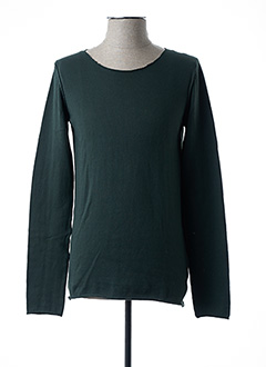 Pull col rond vert IMPERIAL pour homme