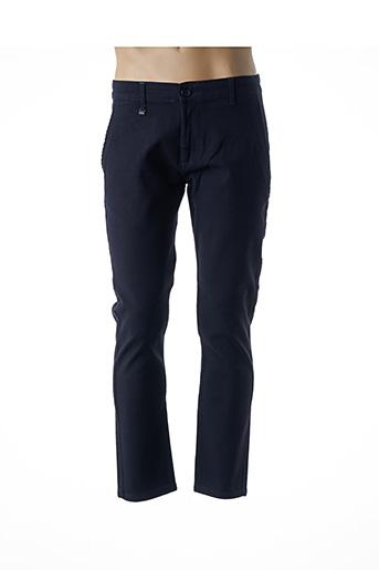 Pantalon casual bleu BENSON & CHERRY pour homme