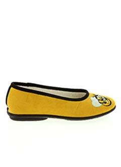 Chaussons/Pantoufles jaune EXQUISE pour fille