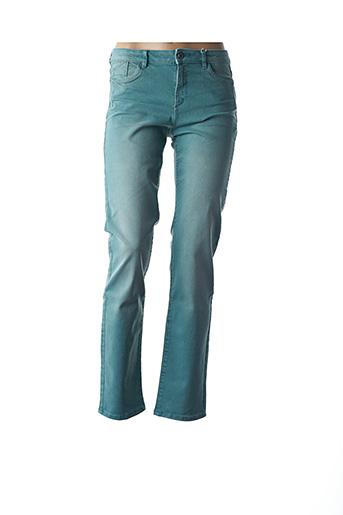 Jeans coupe droite vert ESPRIT pour femme