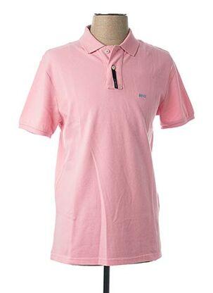 Polo manches courtes rose MC GREGOR pour homme