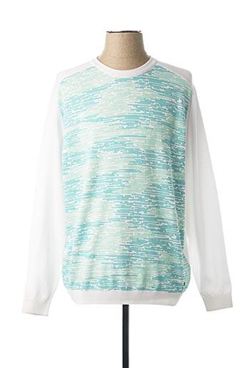 Sweat-shirt blanc HUGO BOSS pour homme
