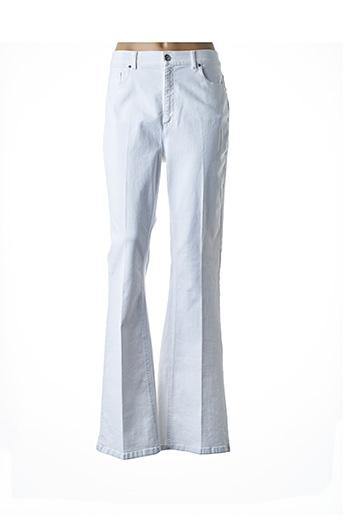 Pantalon casual blanc ASHLEY GRAHAM BY MARINA RINALDI pour femme