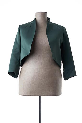 Boléro vert MARINA RINALDI pour femme