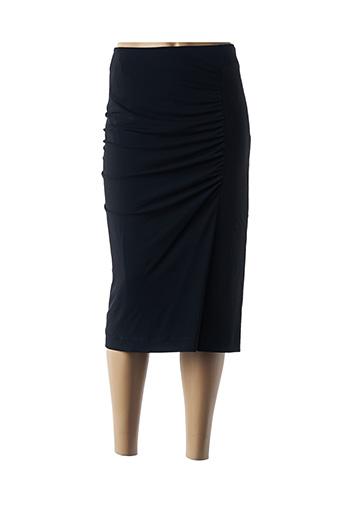 Jupe mi-longue noir MARINA RINALDI pour femme