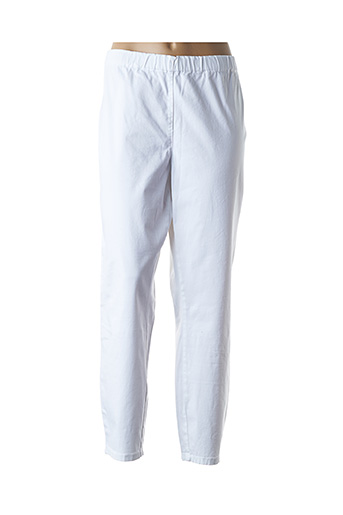 Pantalon 7/8 blanc MARINA RINALDI pour femme