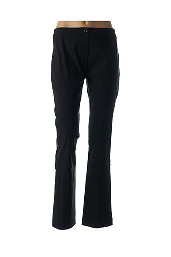Pantalon casual noir CAPUCCINA pour femme