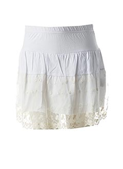 Short blanc MINI MOLLY pour fille