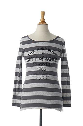 T-shirt manches longues gris MEXX pour fille