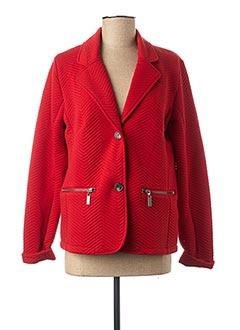 Veste casual rouge JENSEN pour femme