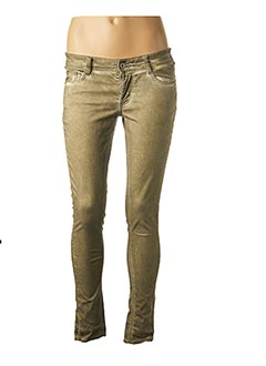Pantalon casual vert KAPORAL pour femme