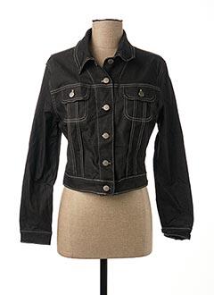 Veste en jean noir LADY SPENCER' S pour femme