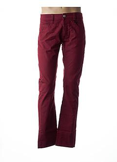 Pantalon casual rouge LA CIBLE ROUGE pour homme