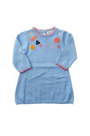 Robe pull bleu NOUKIE'S pour fille