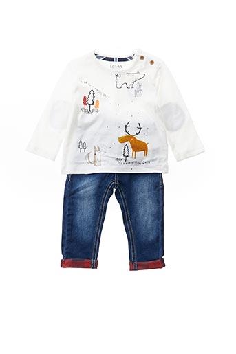 Top/pantalon blanc LOSAN pour garçon