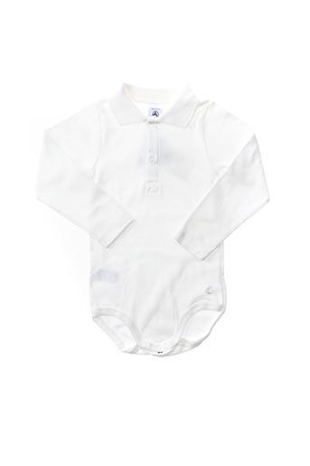 Body blanc PETIT BATEAU pour enfant