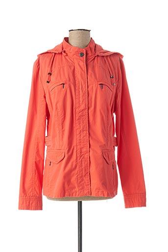 Veste casual orange CONCEPT K pour femme