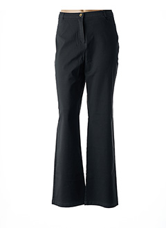 Pantalon casual vert BLEU DE SYM pour femme