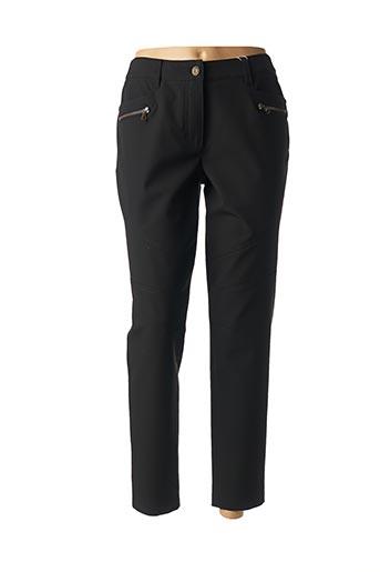 Pantalon 7/8 noir BASLER pour femme