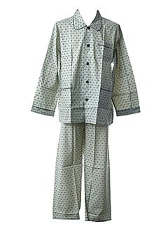 Pyjama vert ELIAN pour homme