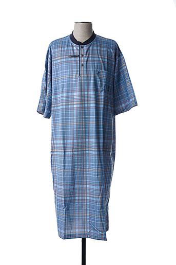 Pyjama bleu HAJO pour homme