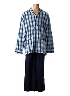 Pyjama bleu VALBOURG pour homme