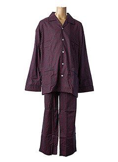 Pyjama rouge VALBOURG pour homme