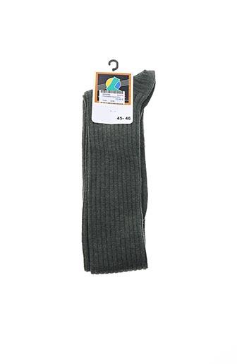 Chaussettes vert ICARE pour homme