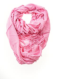 Foulard rose BETTY BOOM pour femme