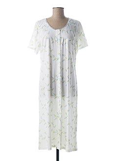 Chemise de nuit blanc CANAT pour femme