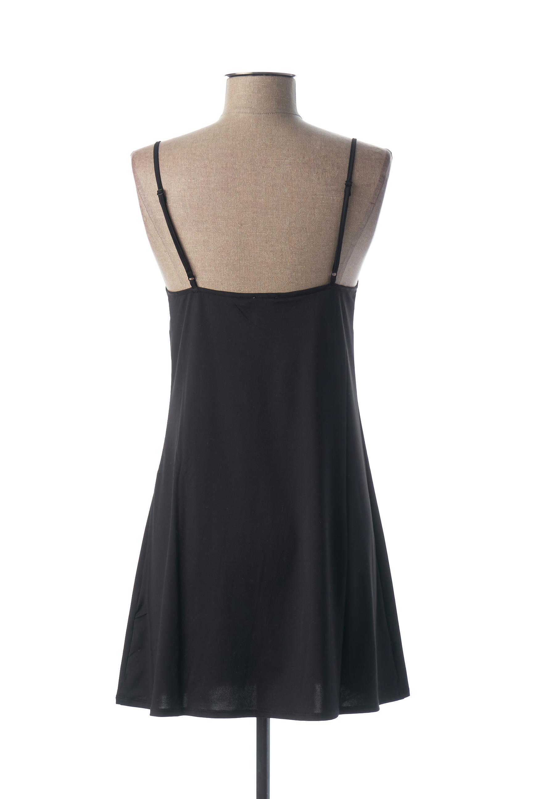 Rose Pomme Jupons Fonds De Robe Femme De Couleur Noir En Soldes Pas Cher 1453250 Noir00 Modz