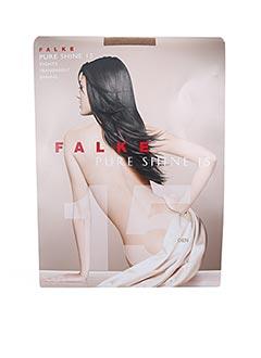 Collants beige FALKE pour femme