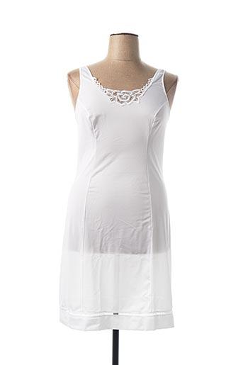 Jupon /Fond de robe blanc HELIOS pour femme