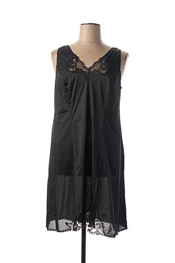 Jupon /Fond de robe noir ARTEL pour femme