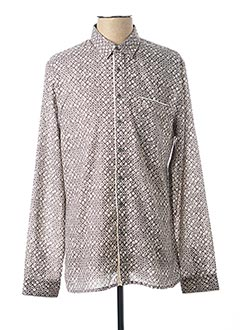 Chemise manches longues gris PEARLY KING pour homme