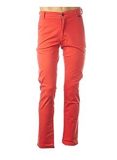 Pantalon casual orange HARRIS WILSON pour homme