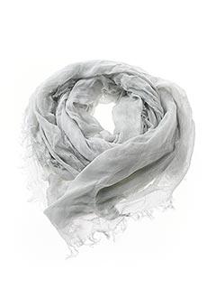 Foulard gris HARRIS WILSON pour unisexe