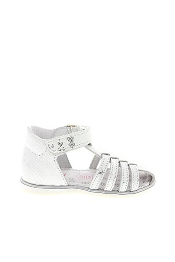 Sandales/Nu pieds blanc BOPY pour fille