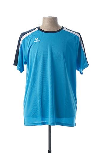 T-shirt manches courtes bleu ERIMA pour homme