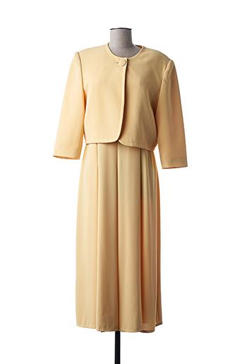 Veste/robe jaune CONSTANTIN pour femme