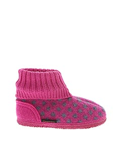 Chaussons/Pantoufles rose GIESSWEIN pour fille