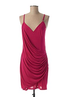 Robe courte rose ALAN RED pour femme