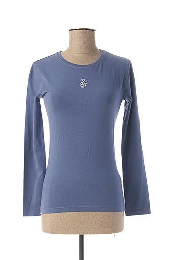 T-shirt manches longues bleu ADISHATZ pour femme