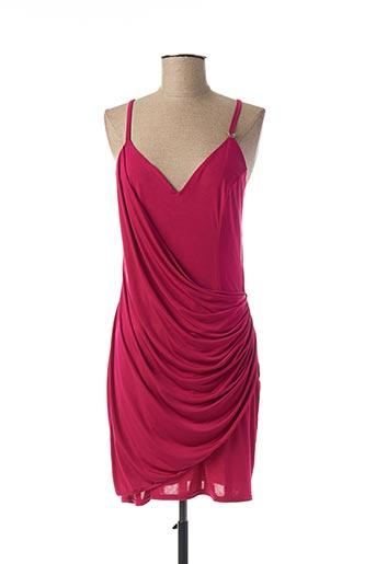 Robe courte rose ALAN RED pour femme