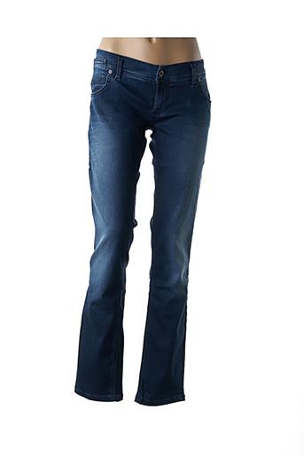 Jeans coupe slim bleu FREE SOUL pour femme
