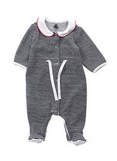 Pyjama noir PETIT BATEAU pour fille